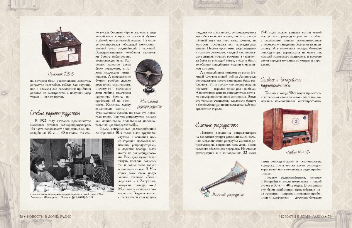 вещи xx века в рисунках и фотографиях