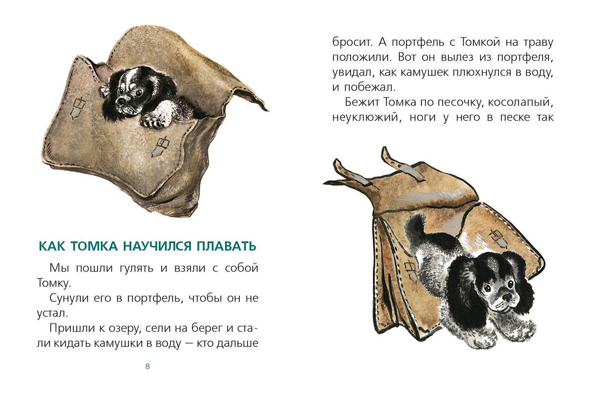 Рисунок к рассказу про томку